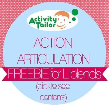Action Articulation FREEBIE for L Blends