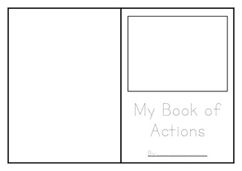 Action Book - Tracing, Writing, Drawing Early Reader