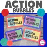 Action Bubbles Goal Setting Activity
