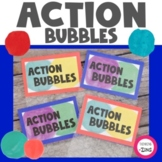 Action Bubbles Goal Setting Activity