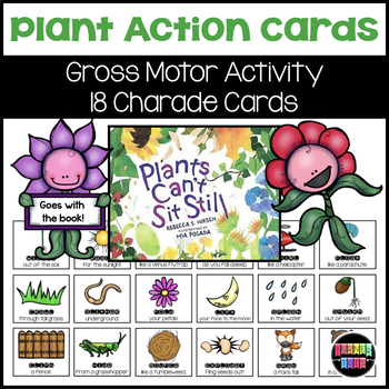Plant Action Cards