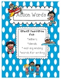 Action Cards-Verbs