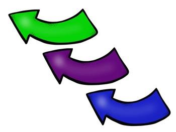 Action Cycle- B&W Bilingual Swirl Border Simple, IB PYP