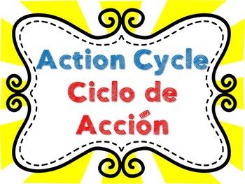 Action Cycle- Bilingual Super Hero