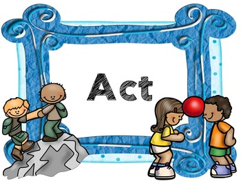 Action Cycle- PE, Blue Frame IB PYP