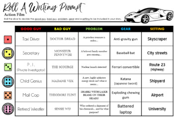 Action Film Writing Prompt