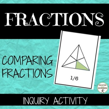 Comparing fractions Inquiry Center Activity