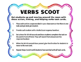 Action, Helping, and Linking Verbs Scoot