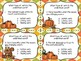 Action, Linking, & Helping Verbs Fall Task Cards