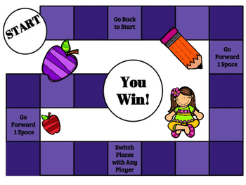 Action & Linking Verbs Task Cards, SCOOT, and Board Game