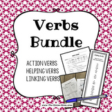 Action, Linking, and Helping Verbs Grammar Bundle with dis