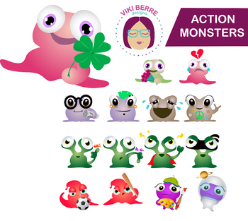 Action Monsters / Active Monsters, CU OK