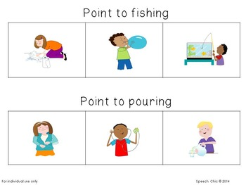 Action Packed Activities for Expressive and Receptive Language