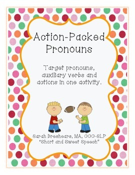 Action Packed Pronouns