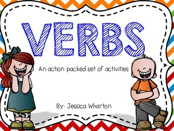 Action Packed Verb Activities