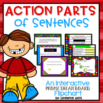Action Parts (An Interactive Promethean Board Flipchart)