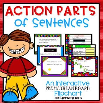 Action Parts (An Interactive Promethean Board Flipchart)
