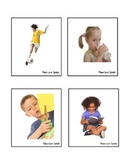 Action Picture Cards - Verbs