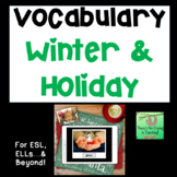 Action Picture and Word Cards (Holiday/Winter Edition)