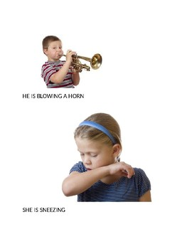 Speech Therapy-Special Education-Action Pictures