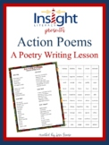 Action Poems - A Poetry Writing Lesson