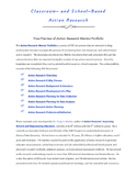 Action Research Mentor Portfolio Preview