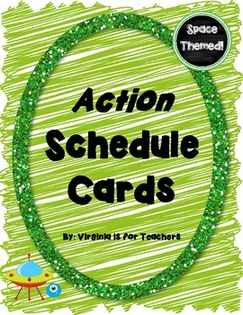 Action Schedule Cards
