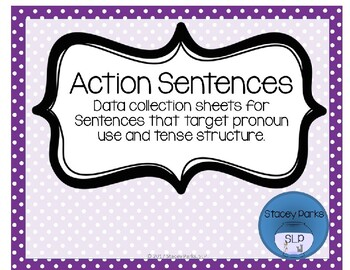 Action Sentence Data Sheets