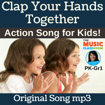 Action Song for PreK - Gr 1 | Original | Song mp3 Only