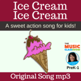 Ice Cream Action Song | Music Opposites | High and Low Sou