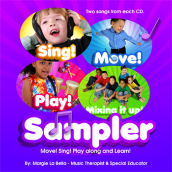 A FREE MUSIC CD! Action Songs  Sampler -Move, Sing, Play, and Learn  series