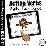 Action Verb Grammar Activities: 1st Grade Google Classroom