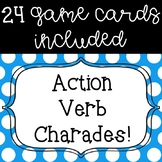 Action Verb Charades Game