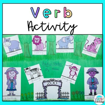 Action Verb Craft Activity
