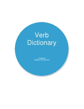 Action Verb Dictionary