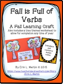 Action Verb Learning Craft