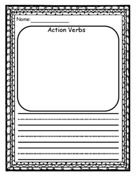 Action Verb Template