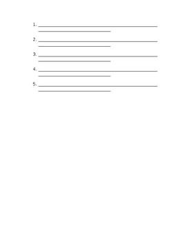 Action Verb Test