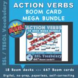 Action Verbs 18 deck mega bundle - Boom Learning digital resource