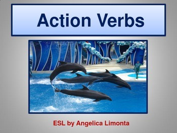English: Action Verbs