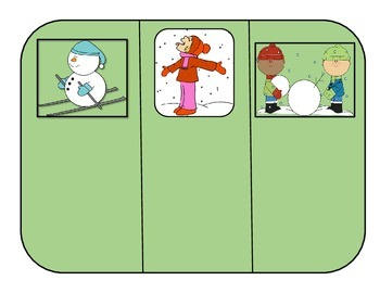 Action Verbs #2: File Folder