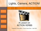 Action Verbs - A PowerPoint Lesson