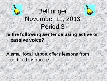 Action Verbs, Active/Passive Voice, and Transitive & Intransitive Verbs
