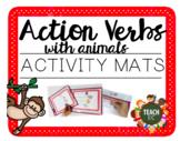 Action Verbs Activity Mats