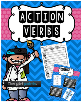 Action Verbs Activity Pack