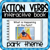 Action Verbs Interactive Adapted Book for Special Education (Park Theme)