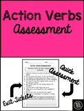 Action Verbs Assessment