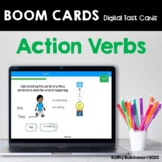 Action Verbs Boom Cards