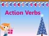 Action Verbs (Christmas Theme)