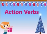 Action Verbs (Christmas Theme)